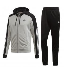 Chándal adidas game time DV2452 de color negro y gris al mejor precio en tu tienda de deportes online chemasport.es
