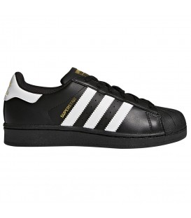 ZAPATILLAS ADIDAS SUPERSTAR J V23642 NEGRO