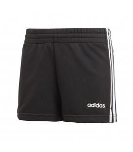 Pantalón corto para mujer adidas essentials 3S DV0351 de color negro al mejor precio en tu tienda de deportes online chemasport.es