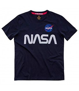 CAMISETA ALPHA INDUSTRIES NASA REFLECTIVE