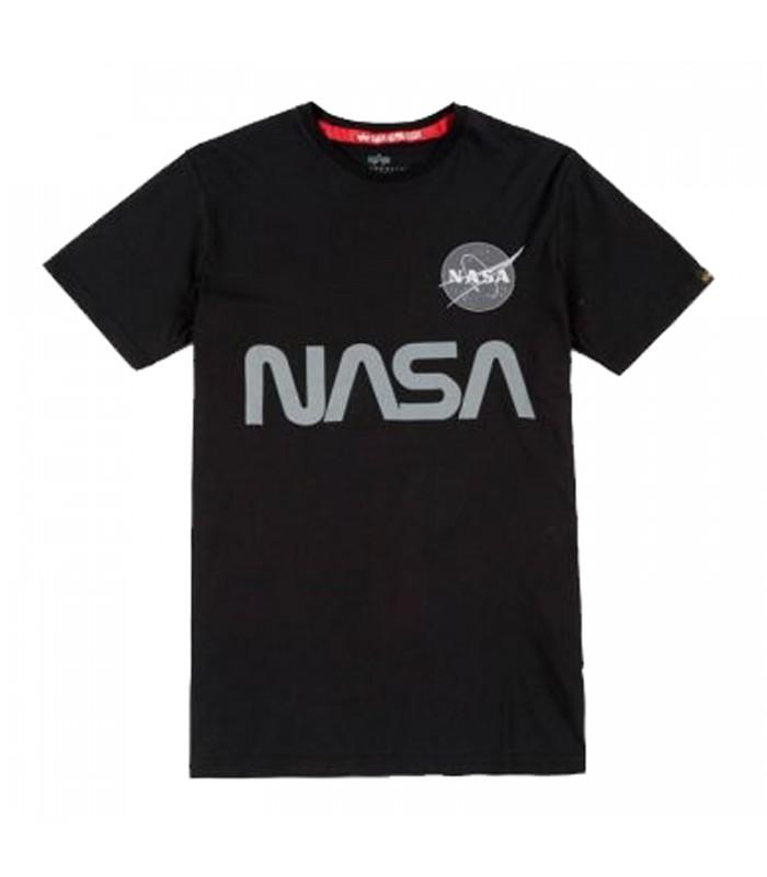 CAMISETA ALPHA INDUSTRIES NASA REFLECTIVE ea7a326e3077