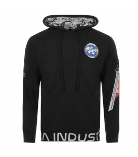 SUDADERA ALPHA INDUSTRIES MOON LANDING