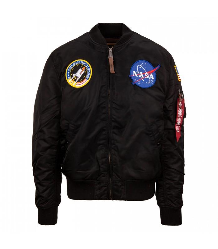fb1f3bf685101 CAZADORA ALPHA INDUSTRIES MA-1 VF NASA