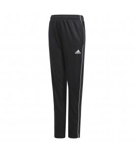 Pantalón de entrenamiento para niños adidas CORE 18 J de color negro al mejor precio en tu tienda de deportes online chemasport.es