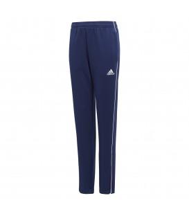 Pantalón de entrenamiento para niños adidas CORE 18 J CV3994 de color azul marino al mejor precio en tu tienda de deportes online chemasport.es