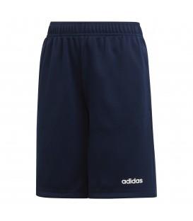 Pantalón corto de entrenamiento para niños adidas Linear Short J DV2924 de color azul marino al mejor precio en chemasport.es