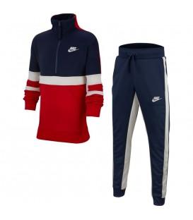 Chándal para niños Nike Air AQ9423-657 de color rojo y azul marino. Otros modelos para niños al mejor precio en chemasport.es