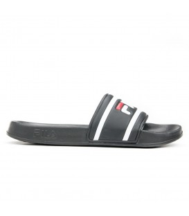 Chanclas para hombre Fila Morro Bay 1010286 de color negro al mejor precio en tu tienda de moda Chema Sneakers Pontevedra,