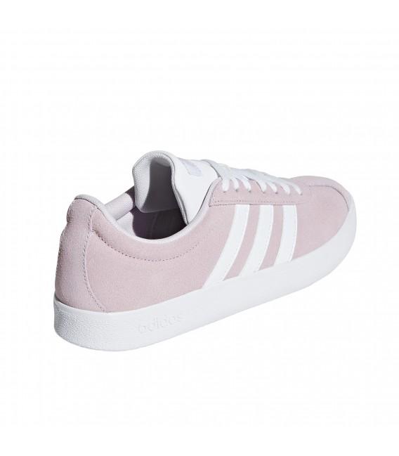 adidas vl court mujer rosa