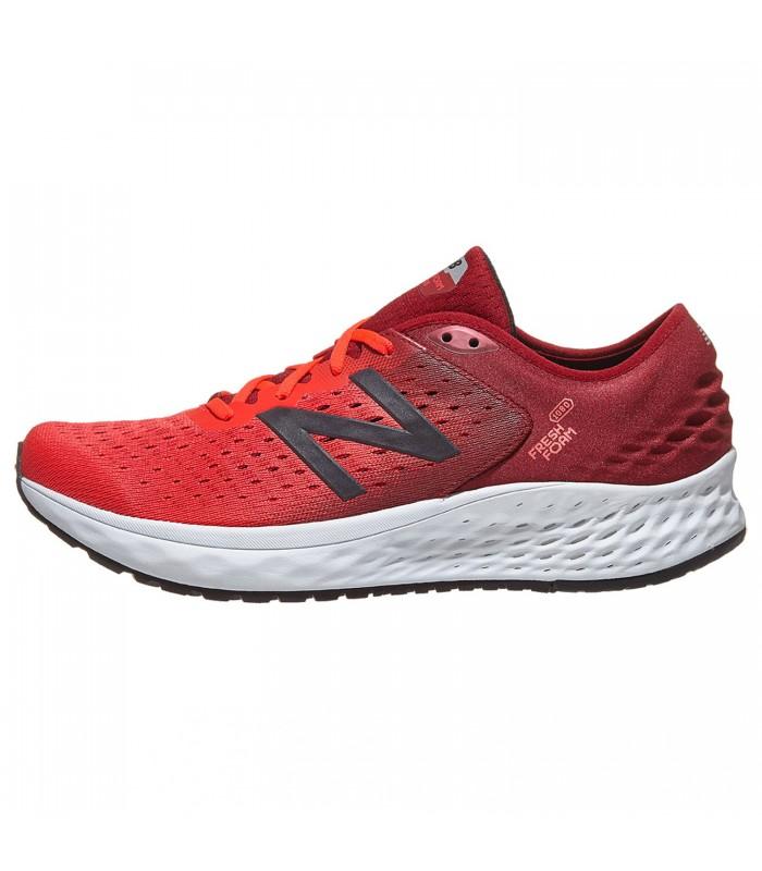 new balance running hombre rojas