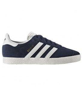 ZAPATILLAS ADIDAS GAZELLE J BY9144 AZUL MARINO