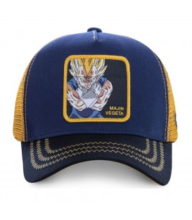 GORRA CAPSLAB VEGETA MV1 DRAGON BALL AZUL MARINO