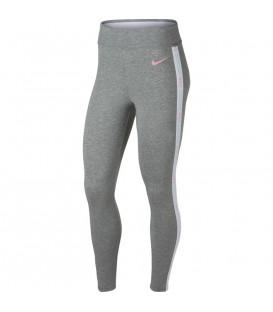 Mallas deportivas para mujer Nike Sportswear AR2201-063 de color gris al mejor precio en tu tienda deportiva online chemasport.es