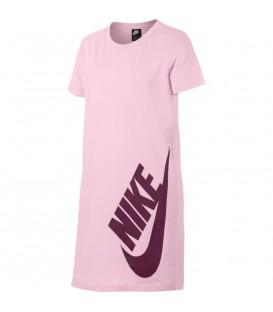 Vestido para niña Nike Sportswear AQ0613-663 de color rosa al mejor precio en tu tienda de deportes online chemasport.es
