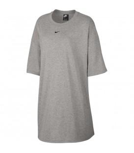 Vestido para mujer Nike Sportswear W AR3652-063 de color gris al mejor precio en tu tienda de deportes online chemasport.es