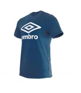 Camiseta para hombre y mujer Umbro 65352U de color azul marino al mejor precio en chemasport.es