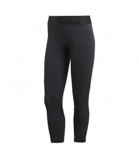 Mallas de entrenamiento para mujer adidas 3/4 Alphaskin sport de color gris oscuro al mejor precio en tu tienda de deportes online chemasport.es