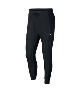 Pantalón de moda para hombre Nike Sportswear Optic Fleece 928493-010 de color negro al mejor precio en chemasport.es