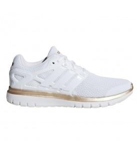 Comprar deportivas de running para mujer adidas Energy Cloud V F35050 de color blanco al mejor precio en chemasport.es