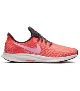 Comprar deportivas de running para mujer Nike Air Zoom Pegasus 35 WMNS 942855-800 de color rosa al mejor precio en chemasport.es