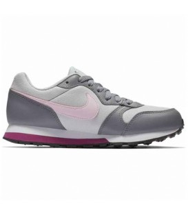 ZAPATILLAS NIKE MD RUNNER 2 GS 807319-017 GRIS CLARO