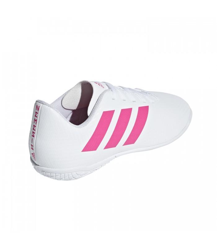 imagenes de zapatos adidas de futbol sala blanco