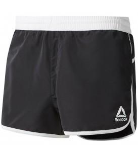 Comprar pantalón corto de entrenamiento para hombre Reebok Retro DW9558 de color negro al mejor precio en chemasport.es