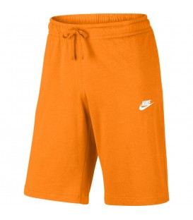 Comprar pantalón corto de algodón para hombre Nike Sportswear de color naranja al mejor precio en tu tienda de deportes online chemasport.es