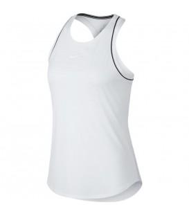 Comprar camiseta de entrenamiento para mujer Nike Court Dry 939314-100 de color blanco al mejor precio en chemasport.es
