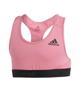 Comprar top deportivo para niña adidas Alphaskin Sport DV2768 de color rosa al mejor precio en tu tienda de deportes online chemasport.es