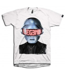 CAMISETA LEG3ND DAFT PUNK SILVER