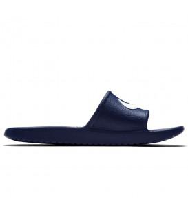 Comprar chanclas de natación para hombre Nike Kawa 832528-400 de color azul marino al mejor precio en chemasport.es