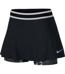 Comprar falda pantalón de tenis para mujer al mejor precio Nike Court Dri-FIT AO0341-010 de color negro.