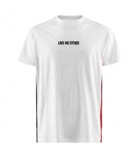 Esta camiseta de Kappa unisex es el modelo Balmin Authentic 304IBG0_901 de color blanco al mejor precio en chemasport.es