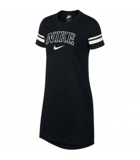 Comprar vestido para mujer Nike Sportswear AR3736-010 de color negro al mejor precio en tu tienda de deportes online chemasport.es