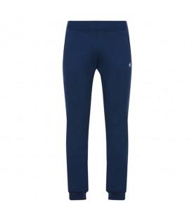 Comprar pantalón de algodón para hombre Le Coq Sportif Essentiels Slim 1810510 de color azul marino al mejor precio en chemasport.es