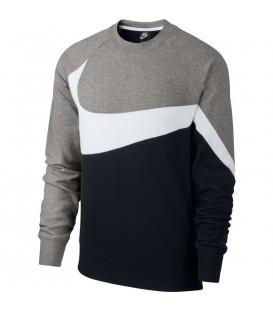 Comprar sudadera Nike Sportswear Crew AR3088-011 de color gris al mejor precio en chemasport.es