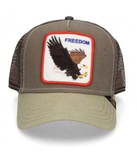 Comprar gorra unisex con animales Goorin Bros Freedom 101-0209-OLI de color verde al mejor precio en chemasport.es