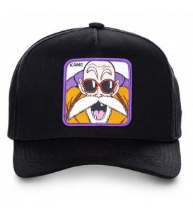 Gorra unisex Capslab Kame KAMB de color negro con imagen de Kame de Dragon Ball en la parte delantera al mejor precio en chemasport.es