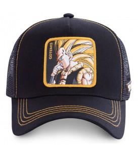 Comprar gorra unisex Capslab Super Saiyan Dragon Ball GOT3 de color negro al mejor precio en chemasport.es