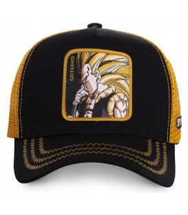 Esta gorra de Capslab tiene dibujo de Super Saiyan, de Dragon Ball, en la parte delantera. Gorra Capslab GOT3 al mejor precio en chemasport.es