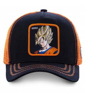 Esta gorra de Capslab tiene imagen de Son Goku de Dragon Ball. Es una gorra unisex de Capslab de Dragon Ball al mejor precio en chemasport.es