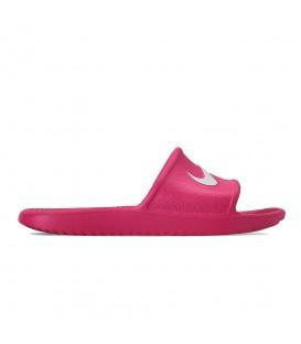 Comprar chanclas de natación para mujer Nike Kawa W BQ6831-601 de color rosa al mejor precio en tu tienda de natación online chemasport.es