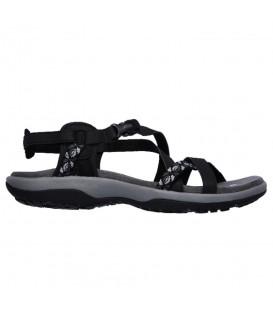 Comprar sandalias de trekking Skechers Reggae Slim - Vacay 40955-BLK de color negro al mejor precio en tu tienda de deportes online chemasport.es
