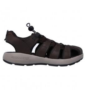 Comprar sandalias para caminar Skechers Melbo - Journeyman 2 de color marrón al mejor precio en tu tienda de deportes online chemasport.es