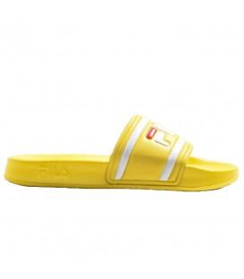 Comprar chanclas de natación Fila Morro Bay W 1010340 de color amarillo al mejor precio en tu tienda de deportes online chemasport.es