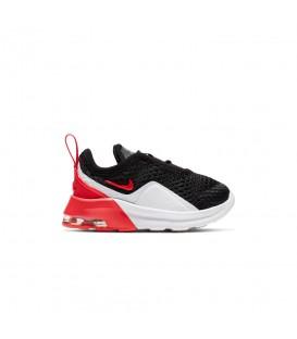 Comprar deportivas para niños pequeños Nike Air Motion 2 K AQ2744-007 de color negro y rojo al mejor precio en tu tienda de deportes online chemasport.es