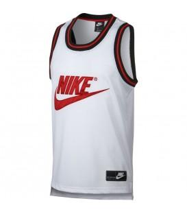 Camiseta para hombre de baloncesto Nike Sportswear basket AR9892-100 de color blanco al mejor precio en tu tienda de deportes online chemasport.es