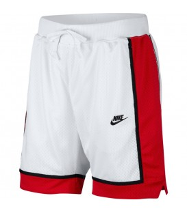 Comprar pantalón de Nike para hombre inspirado en los pantalones de basket AR2418-100 de color blanco al mejor precio en chemasport.es