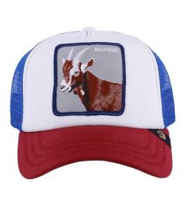 Comprar gorra unisex para hombre y mujer Goorin Bros Hickory Stick 101-5151-BLU con dibujo de cabra al mejor precio en chemasport.es